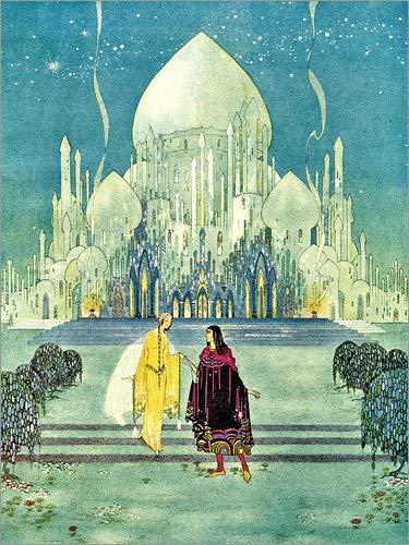 Posterlounge Acrylglasbild 50 x 70 cm: Der Orient Palast von Virginia Sterrett - Wandbild, Acryl Glasbild, Druck auf Acryl Glas Bild
