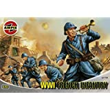 Airfix A01728 WWI French Infantry 1:72 Scale Series 1 Plastic Figures