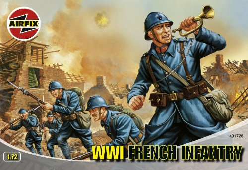 Airfix a01728 - fanteria francese [importato da germania]