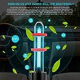 Lampada sterilizzante luce sterilizzatore UV, sterilizzazione UV lampada disinfezione luce, luce uccisione germe per auto frigorifero domestico WC