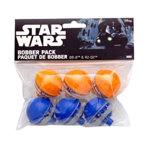Zebco/Quantum Star Wars Bobber Set (6Pack)