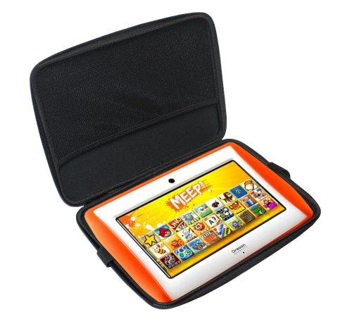 Navitech Schwarz Schutz Case Cover Sleeve für dasLeapFrog LeapPad Ultra Xdi (wie bei Toys'R'Us)
