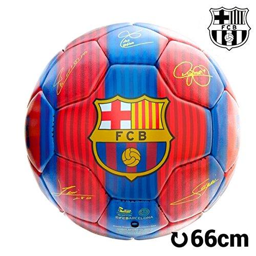 Balón de fútbol. Balón oficial futból club Barcelona. Balón con firmas de tus jugadores de fútbol favoritos del F.C. Barcelona. PRODUCTO OFICIAL.
