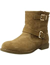 XTI Camel Suede Ladies Ankle Boots . - Botas Mujer