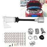Zerone cofano Release Lock set kit di riparazione serratura per Ford Focus MK213435772005-2011