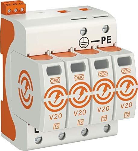 obo-bettermann Ableiter Überspannungsschutz V204-polig mit FS 280V