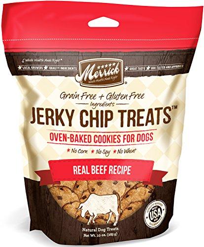 Merrick unruhig Chip behandelt, echt Rindfleisch Rezept, 10Unzen. -