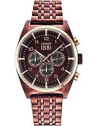Cerruti 1881 CRA109SBZR12MBZ_wt Reloj de pulsera para hombre