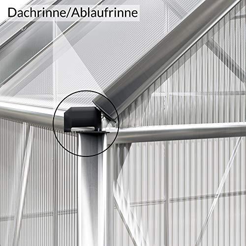Deuba Aluminium Gewächshaus - 8