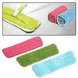 #3: Rrimin Practical Cleaning Pad Microfiber Mop Floor Dust Household Flat Refill Tool