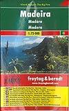 Madeira, Autokarte 1:75.000, Island Pocket + The Big Five, freytag & berndt Auto + Freizeitkarten - Freytag-Berndt und Artaria KG