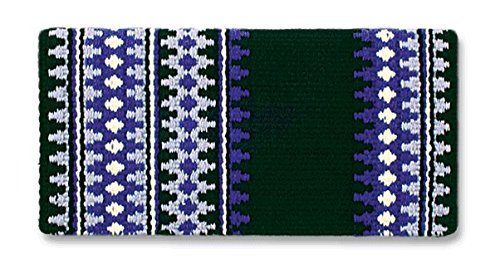 Mayatex Westernpad Catalina Sattel Decke, 1451-4, Black/Show Purple/Eve Lilac/Cream, 38 x 34 Inches (4 Catalina)