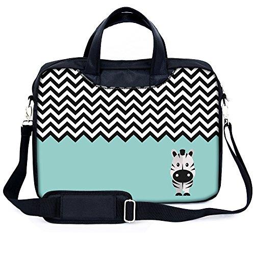 Sidorenko 17-17,3 Zoll Laptoptasche   Laptop Umhängetasche mit zwei Innentaschen für Zubehör   Notebook-Schultertasche - Notebook-Tasche Schmutz- und Wasserabweisend
