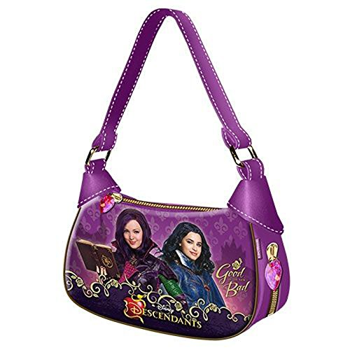 Descendientes-DISNEY-Bolso-de-mano-con-diseo-de-moda-de-descendientes-color-morado