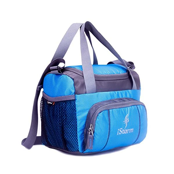 Istorm Spice Sky Blue Polyster Lunch Bag