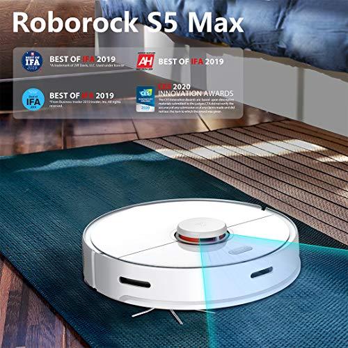 Roborock S5 MAX. Xiaomi. Robot Aspirador con mopa de fregado