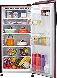 LG 190 L 4 Star Direct Cool Single Door Refrigerator(GL-B201ASPX.ASPZEBN, Scarlet Plumeria, Inverter Compressor)