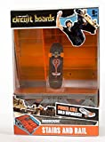 Tony Hawk Hexbug Circuit Board Toy - Birdhouse Fingerboard - Stairs and Rails Playset
