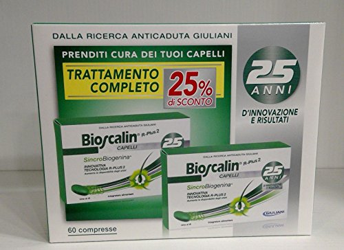 BIOSCALIN R-plus SINCROBIOGENINA NUOVA FORMULA - 60 CPR