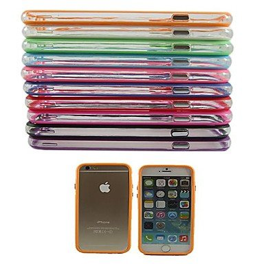 Handy-Hüllen & Hüllen, TPU Auto-Schutzhülle für das iPhone 6 bei 4,7 Zoll (Farbe sortiert) ( Farbe : Dunkelblau , Kompatible Modellen : IPhone 6s/6 )