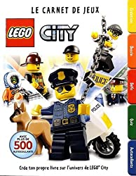 LEGO City Factivity - tome 0 - LEGO City, Le carnet de jeux