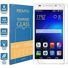 PREMYO cristal templado Honor 6. Protector cristal templado Honor 6 con una dureza de 9H, bordes redondeados a 2,5D. Protector pantalla Honor 6