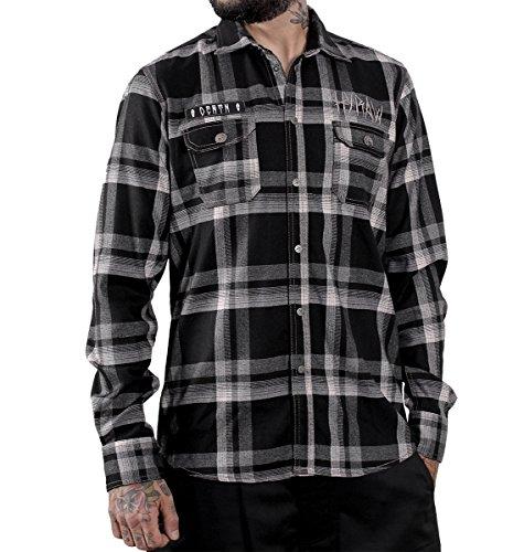 Hyraw -  T-shirt - Uomo Black X-Large