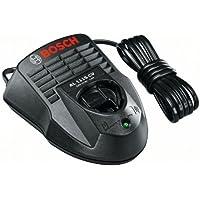 Bosch 1600Z0003P Cargador para baterías, 12 V, Negro