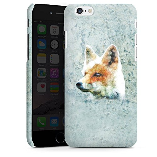 Apple iPhone X Silikon Hülle Case Schutzhülle Fuchs Fox Muster Premium Case matt