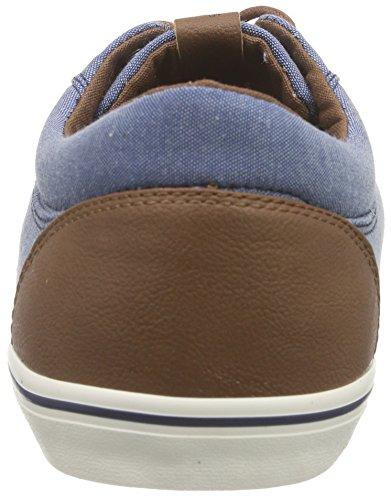 JACK & JONES Herren Jjvision Mixed Canvas Sneaker Sneakers Blau (Chambray Blue)
