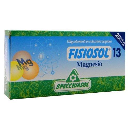 fisiosol 13 mg oligoelementi puri in soluzione acquosa 20 fiale da 2 ml