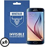 Samsung Galaxy S6 Screen Protector Pack, Super Clear by Minotaur (6 Screen Protectors)