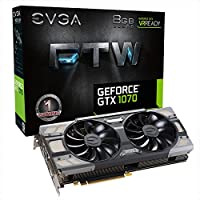 Evga NVIDIA GeForce GTX 1070 8GB Graphics Card