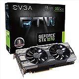 EVGA GeForce GTX 1070FTW für die Win Gaming ACX 3.0Kühlung 8GB GDDR5Speicher, PCI-e 3Grafikkarte-Schwarz