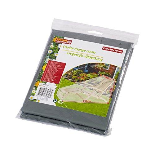 Housse de protection PVC pour chaise longue de jardin en bois tropical
