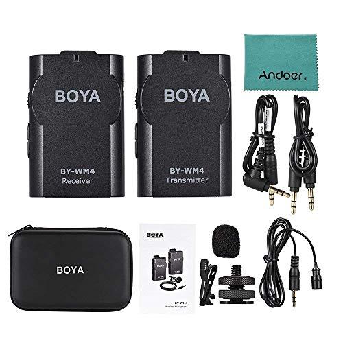 Boya BY-WM4 Microphone sans fil Lavalier avec écran en temps réel avec étui rigide pour appareil photo reflex numérique Canon Nikon Sony Cam... 8