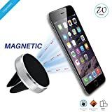 #3: West7TM Premium Magnetic Mobile Phone Holder For Car Ac Vent. Car Phone Holder/Car Mobile Stand/Air Vent Mount/Car Mobile Holder for Car Ac Vent compatible with all Smartphones with 360 rotation