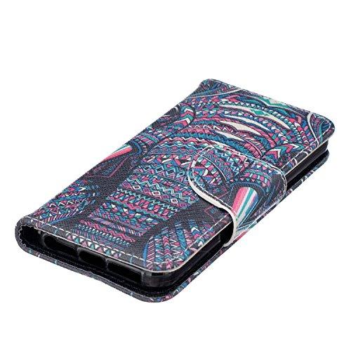 Meet de pour Apple iphone 5C Ultra Slim Flexible Transparent Soft Case / Housse / Portefeuille / Cover Étui / Housse étui - arbre blanc Elephant Head