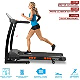 JLL S300 Digital Folding Treadmill, 2018 New Generation Digital 4.5HP Motor, 20 Incline Levels, 0.3km/h to 16km/h, 15 Professional Programs, USB & Speakers, 2-Year Parts&Labour, 5-Year Motor Cover