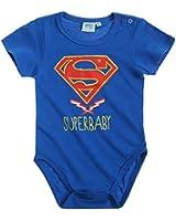 Superman Babies Body 2016 Kollektion - blau