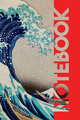 Notebook: Great Wave Off Kanagawa Practical Composition Book for traveling to Japan