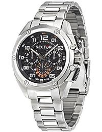 Sector Herren - Armbanduhr 950 Analog Quarz Edelstahl R3253581005