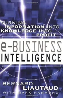 e-Business Intelligence: Turning Information into Knowledge into Profit par [Liautaud, Bernard]