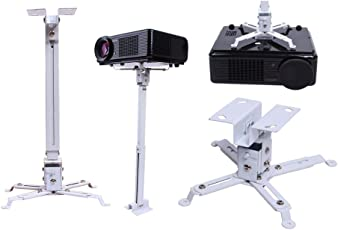 MX 2 FT Universal Projector Ceiling Mount Bracket Stand for LED LCD DLP Projectors from Sony ,Sanyo ,Dell & Optoma Weight-15 Kgs