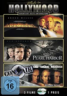 Made in Hollywood: Armageddon - Das jüngste Gericht / Pearl Harbor / Con Air [3 DVDs]