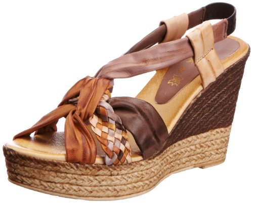 Lunar Jlm104, Sandali donna marrone (Braun (Brown Multi))