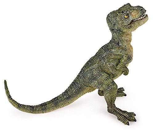 Papo 55028 - Figura de tiranosaurio Rex (bebé), color verde