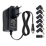 Outtag 10W Universel Alimentation Chargeur 5V 2A AC Adaptateur avec 7 connecteur pour appareils LCD, LED Strips, Routers,haut-parleur,USB HUB,Balances,Android portable,Samsung Galaxy,Huawei,Xiao Mi