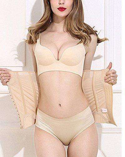 Donna Leggero E Sottile Bustino Post-Parto Corsetto Lombare Modellante Slimming Multi-petto Cintura fitness Cintura del fascio Pelle