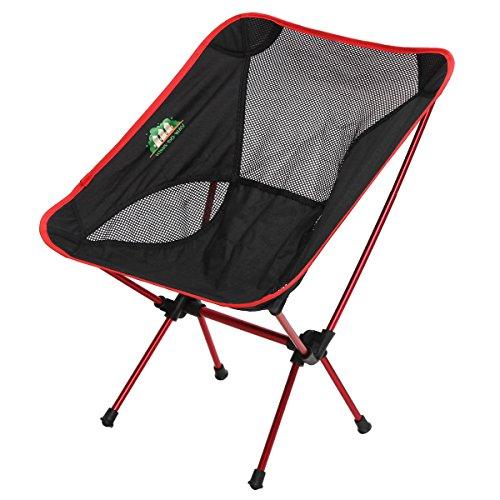 king-do-way-portable-sedia-da-campo-pieghevole-sedia-di-pesca-per-il-campeggio-la-pesca-borsa-rosso